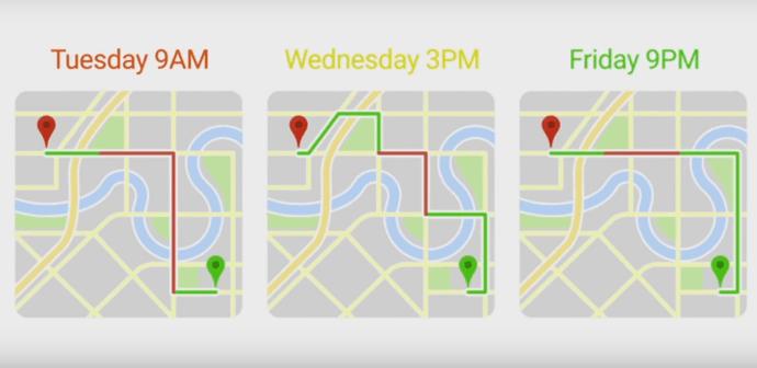 google maps predictive travel time